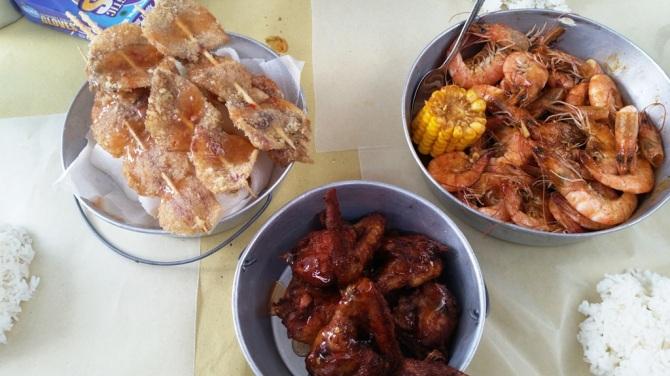 Squid, Shrimp, Wings Bucket in Cebu