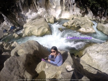 Trekking at Tinipak River in Rizal