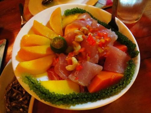 Tubbataha Salad by KaLui, Palawan