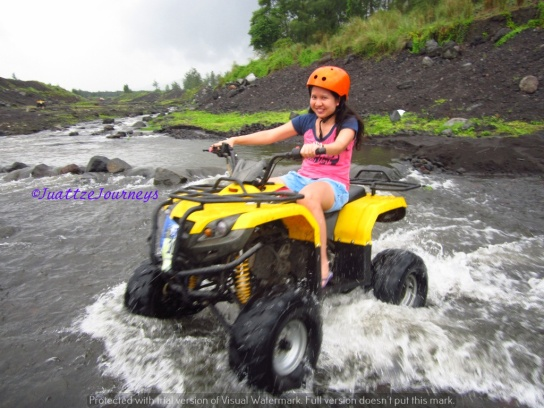 ATV Ride Cagsawa Trail in Albay