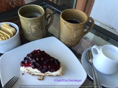 Cheesecake and Coffee