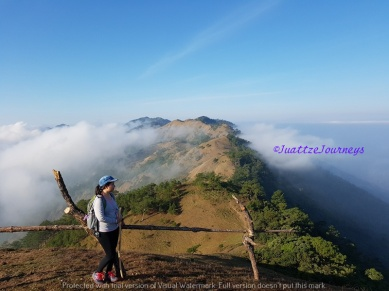 First Peak in Mt. Ulap, Benguet