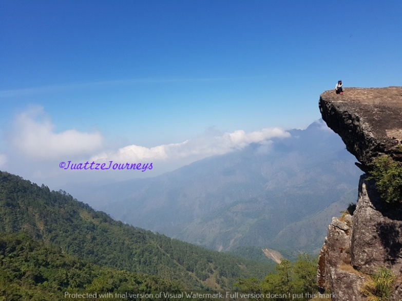 Gungal Rock in Itogon, Benguet