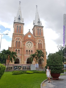 Saigon Cathedral in Ho Chi Minh